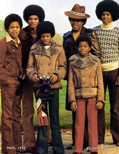 My people.the Jacksons. The Jackson Five, Randy Jackson, Jackson Family, King Of Music, The Jacksons, Motown, American Singers, American History, Beautiful Family