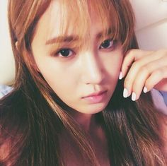 Kwon Yuri is so gorgeous in his picture! I love her with bangs! #SNSD #Yuri