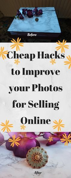 Cheap Hacks to Improve your Photos for Selling Online