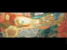Bisce d'acqua - Klimt - MATERICA ottone | Riproduzioni quadri, stampe su tela
