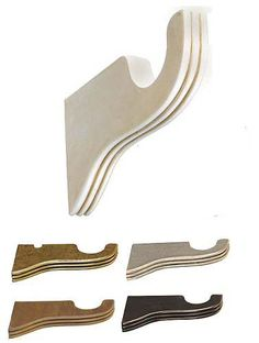 TMS Menagerie Ribbed Brackets