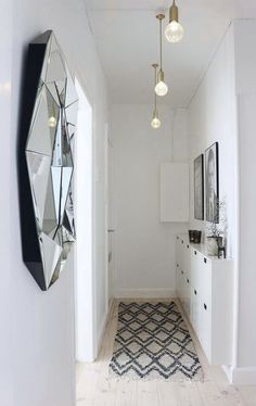 5 tips to decorate a small hallway | KreaVilla                                                                                                                                                                                 More