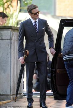 British style on Colin Firth!