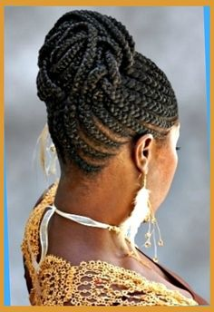 Best African Braids Hairstyle You Can Try Now | braid updo ...