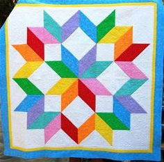 Carpenter's Star Quilt | Quilt It | Pinterest