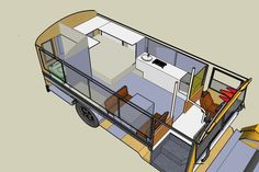 Tell us a bit about the way in which the idea to create a bus into a house on wheels came about. You should be mindful that you're residing in a bus and will want to park in weird areas sometimes. The perfect bus isn't going to amazingly appear before … Bus Remodel, Trailer Remodel, Tiny House Movement, School Bus House, Converted School Bus, Rv Bus, Bus Living, Cozy Living, School Bus Conversion