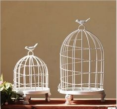Мода железа Birdcage уникальный железа украшение украшение птичья клетка птичья клетка мусс реквизит