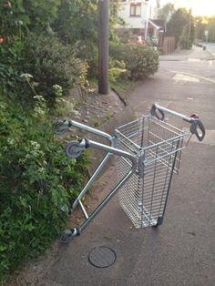 #MySundayPhoto. Go home trolley. You're drunk | Someplace Strange
