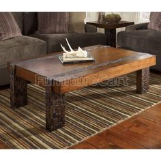 Modern Rustic Coffee Table Plans For Building Your Own Wooden Pallet Included Pallets Pinterest