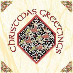 Irish Celtic, Celtic Art, Celtic Christmas, Reindeer Christmas, Irish Drinks, Jute Bags, Gift Wrapping Paper, Calligraphy Art, Glasses Case