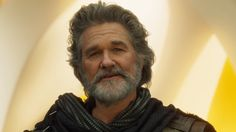 Star-Lord's Dad Is in the New Guardians of the Galaxy Trailer  The latest trailer for Guardians of the Galaxy Vol. 2 has given us our first look at Kurt Russell as Ego the Living Planet.  Revealed onJimmy Kimmel Live the new trailer ends with Peter Quill meeting his long-absent father. Here's a shot of the man/energy projection in question:  In the comics Ego is well a planet with incredible intelligence and a faster-than-light propulsion device on its south pole. In the latest film he has…