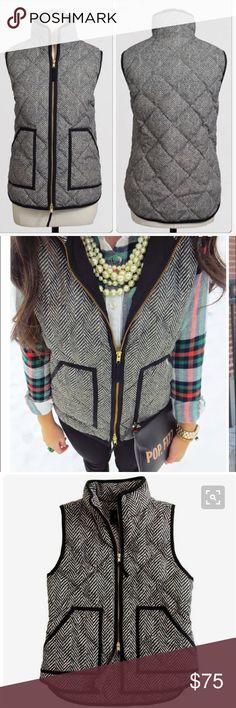 Selling this J. Crew puffer vest on Poshmark! My username is: anajo. #shopmycloset #poshmark #fashion #shopping #style #forsale #J. Crew #Jackets & Blazers
