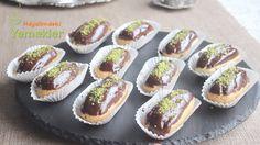 Tatlı tariflerini sevmeyen yoktur herhalde. Şimdi güzel ve herkes tarafından sevilen bir tatlı olan ekler pasta yapımı hazırladık. Sizde ev halkı için, mis