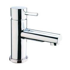 Crosswater - Kai Lever Monobloc Basin Mixer with Pop-up Waste - at Victorian Plumbing UK Bathroom Mixer Taps, Bathroom Shop, Kitchen Taps, Bathroom Ideas, Small Bathroom With Tub, Family Bathroom, Victorian Bathroom, Basin Mixer Taps