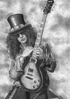 Slash Guns n Roses by lupinemagic.deviantart.com on @DeviantArt