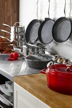 A New Year's resolution doesn't need to be drastic or extravagant. Organizing your kitchenware is a great way to start the new year. Food Prep, Meal Prep, Kitchen Store, Cooking Tools, Kitchenware, Organizing, Baking, Diy Kitchen Appliances, Kitchen Gadgets