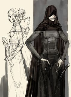 Category: Concept Art - Character Design Page