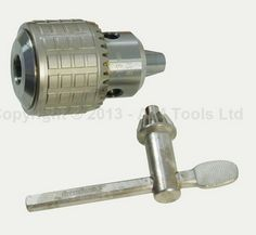 Heavy Duty Press Drill Chuck 1MM - 13MM Taper Mount B16 With Wrench