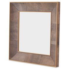 Check out this item at One Kings Lane! Churchill Mirror, Shagreen