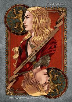 Geek Art Gallery: Illustration: Game of Thrones Cards