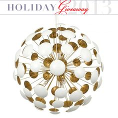 Enter for a Chance to Win: Aster Chandelier from Jayson Home Holiday Giveaway | Apartment Therapy