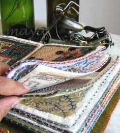 Million Little Stitches: Take it Further Fiber Book