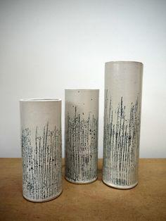 silver birch vases