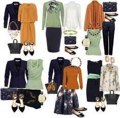 Capsule Wardrobe, Capsule Outfits, Fashion Capsule, Work Wardrobe, Travel Wardrobe, Work Fashion, Fashion Looks, Nail Fashion, Fashion Jewelry
