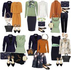 Autumn capsule wardrobe~love it!