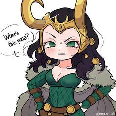 Lady Loki by Mermer