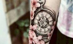 Beautiful cherry blossoms with tattoos - POP TATTOO - # - Tattoo & Piercing - Tattoo Designs For Women Hot Tattoos, Trendy Tattoos, Finger Tattoos, Body Art Tattoos, Tattoos For Guys, Fake Tattoos, Henna Tattoos, Tatoos, Diy Tattoo