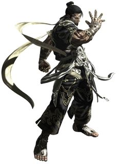 ✧ #characterconcepts ✧ Asura's Wrath - Yasha (artist unknown) *