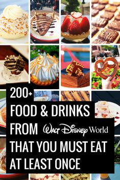 Disney World Must Eats