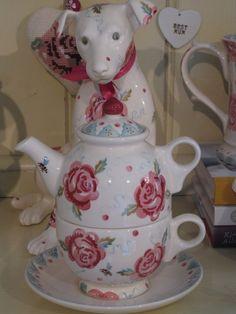 Emma Bridgewater ROSE & BEE tea-for-me