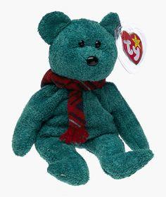 54867932421 Ty Beanie Baby - Wallace the Bear Beanie Babies http   www.amazon