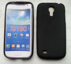 TPU-Case Cover für Samsung Galaxy S4 mini / i9190 Schwarz