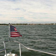 Fishing on Shinnecock Bay, Long Island
