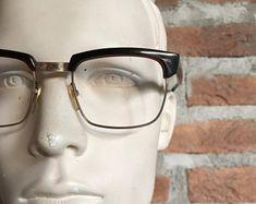 Hipster, Occhiali, montatura occhiali da uomo, 1940-1950, nuovi, non usati