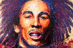 Canvas Art Canvas Art Painted by JACK D using PalletKnife and Airbrush medium Palette Knife Painting, Bob Marley, Airbrush, Canvas Art, Paintings, Live, Medium, Air Brush Machine, Paint
