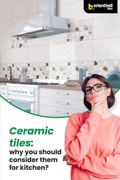 Ceramic tiles are highly suitable for your kitchens. Continue to read and know more about advantages and disadvantages of installing ceramic tiles in your kitchen. #ceramictiles #tileideas #kitchen #tiles #designertiles #backsplash #homedecor #blog