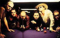 INXS playing Billiards