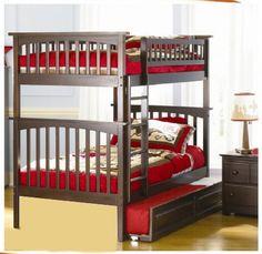 Giường 3 tầng Diva màu nâu
