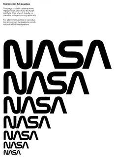 Le guide de style graphique de la Nasa des années 70