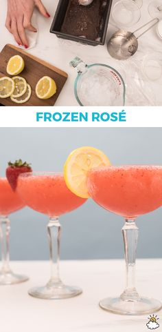 This summer, you don't have to seek out frosé at a restaurant thanks to our frozen rosé recipe! Just grab your blender, favorite rosé and a few other simple ingredients to enjoy this yummy frozen rosé all summer long!