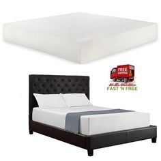 12 In Mattress Foam Soft Bed Top Twin Full Queen King Size Comfortable Bedroom A #SignatureSleep