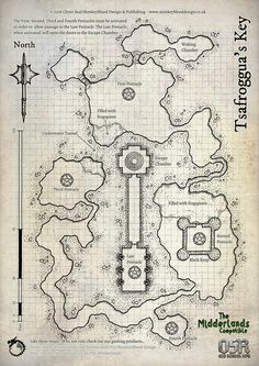Dungeon Tiles, Dungeon Maps, Dungeons And Dragons Homebrew, D&d Dungeons And Dragons, Fantasy Map Making, Dnd 5e Homebrew, Adventure Map, Character And Setting, Fantasy Rpg
