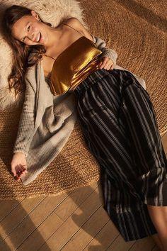 4bf704e1f Slide View: 1: Silence + Noise Lara Culotte Pant Vestidos Para O Outono,