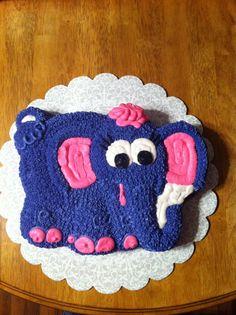 cute and easy elephant cake kid stuff Pinterest Elephant cakes