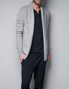CARDIGAN WITH POCKET - Homewear - Man - ZARA United Kingdom - http://www.zara.com/webapp/wcs/stores/servlet/product/uk/en/zara-neu-W2012/286001/827787/CARDIGAN%20WITH%20POCKET