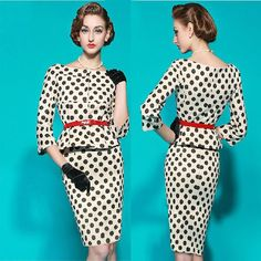 954ddb49f520 Women summer dress 2015 new sexy bodycon black and white polka Fashion  Over